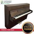 Piano droit YAMAHA - C108N Noyer |PACK PREMIUM INCLUT| Instruments de musique