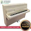 Piano droit YAMAHA - E110N Blanc Ivoire Laqué |PACK PREMIUM INCLUS|