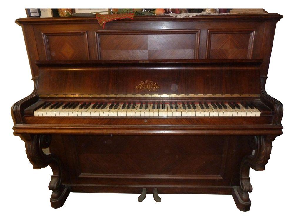 Piano Erard Droit Cadre Métal  0 Marseille 8 (13)