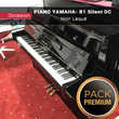 Piano d'étude YAMAHA - B1 Silent DC Noir laqué |PACK PREMIUM INCLUS| Instruments de musique
