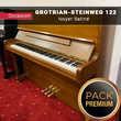 Piano d'expression GROTRIAN-STEINWEG 122 Noyer Satiné |PACK PREMIUM INCLUS| Instruments de musique