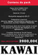 Piano d'expression KAWAI CX21 Noir Laqué |PACK PREMIUM INCLUS| Instruments de musique