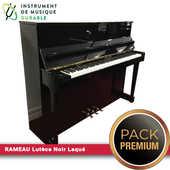 Piano d'expression RAMEAU Lutèce Noir Laqué |PACK PREMIUM INCLUS| 4900 Levallois-Perret (92)