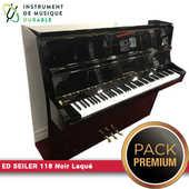 Piano d'expression SEILER 118 Noir Laqué |PACK PREMIUM INCLUS| 5900 Levallois-Perret (92)