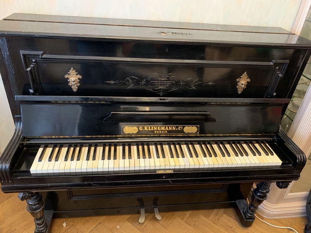 Piano G.Klingmann&Co Berlin 1893 0 Maubeuge (59)