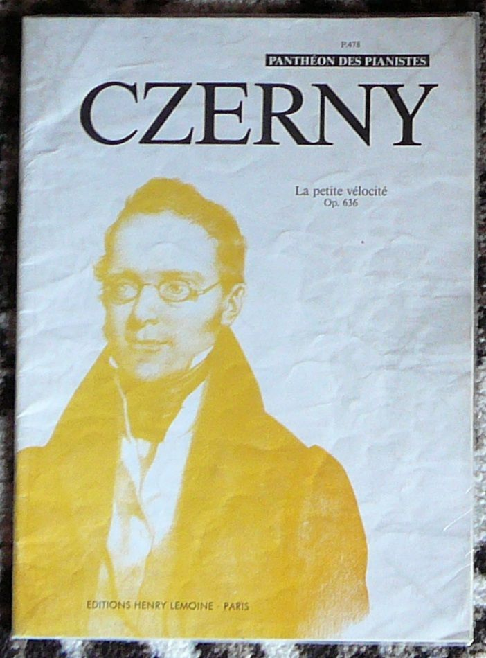 [piano] La petite vélocité, opus 636 Czerny, éd. Lemoine 8 Lens (62)