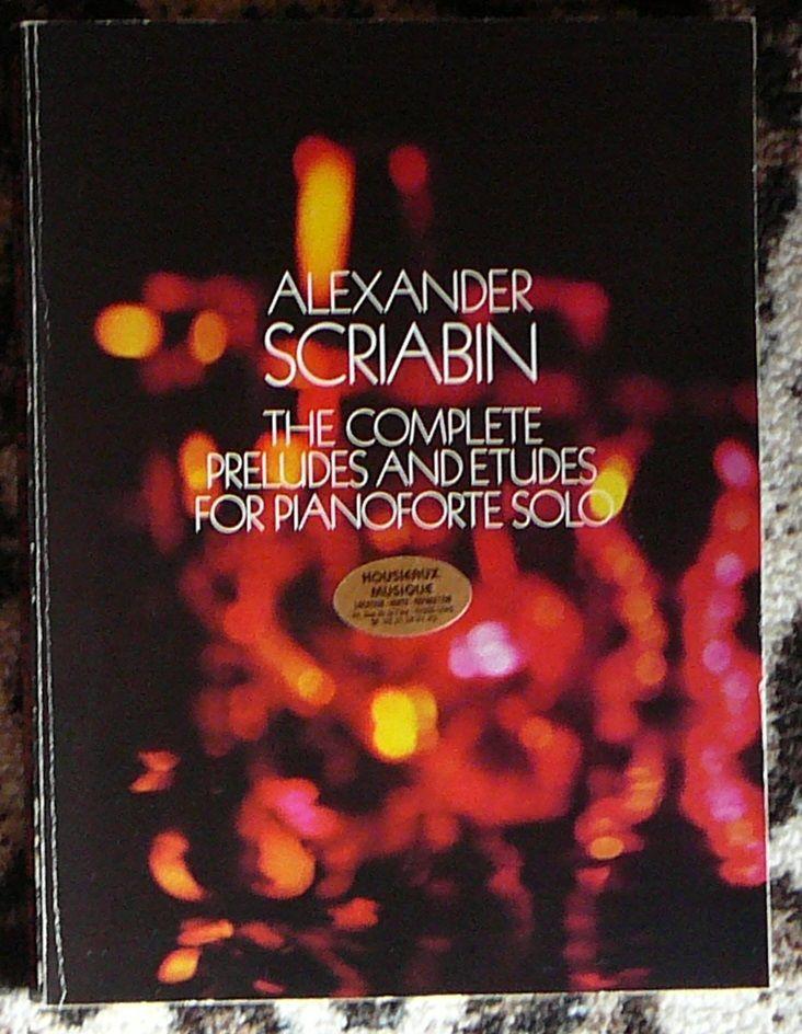 [piano] Préludes et études de Scriabin, éd. Dover 15 Lens (62)