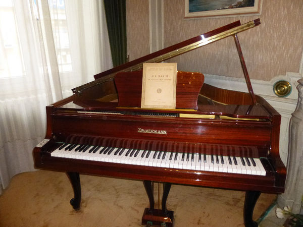 Piano quart de queue Zimmermann Instruments de musique