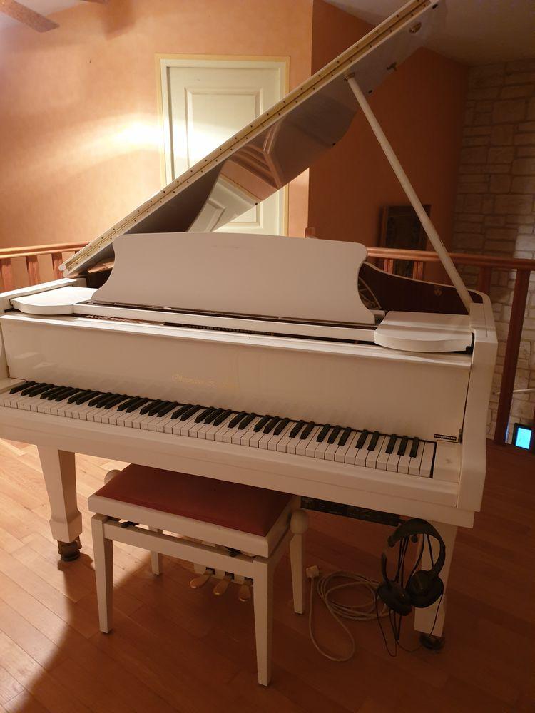 Piano quart de queue blanc Instruments de musique