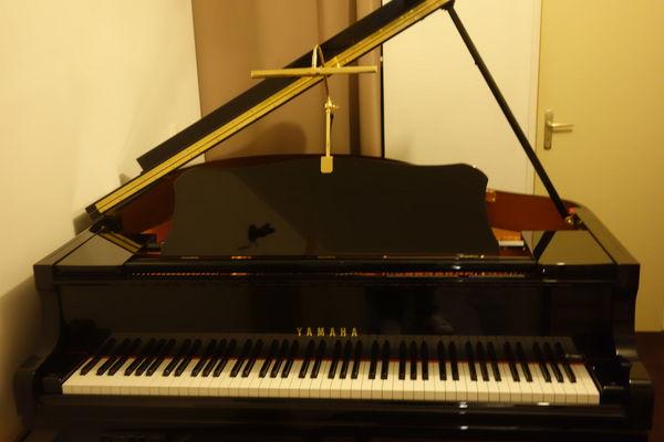 Piano 1/4 de queue Yamaha GC1 SILENT de 2011 Instruments de musique