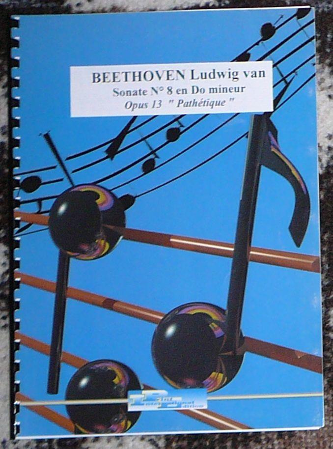 [piano] Sonate n°8 opus 13 (pathétique), Beethoven, éd. PIE 10 Lens (62)