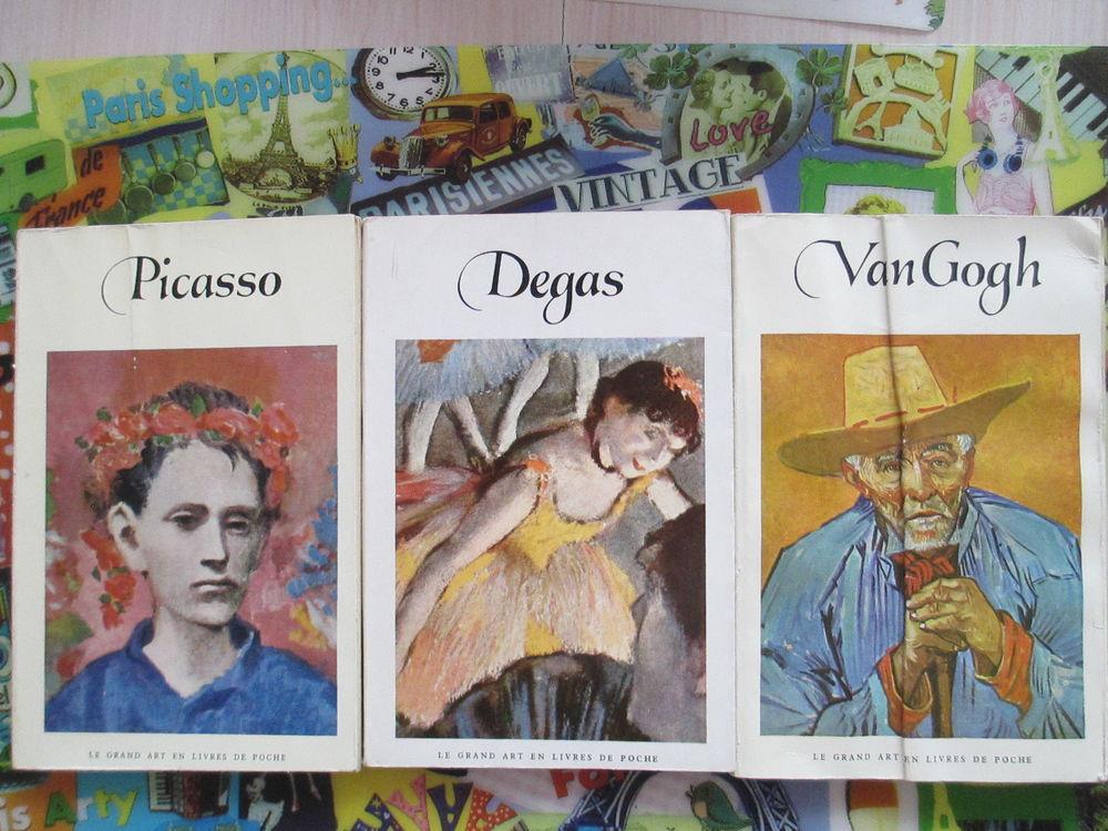 PICASSO VAN GOGH DEGAS le grand art en livres de poche 10 Limeil-Brévannes (94)