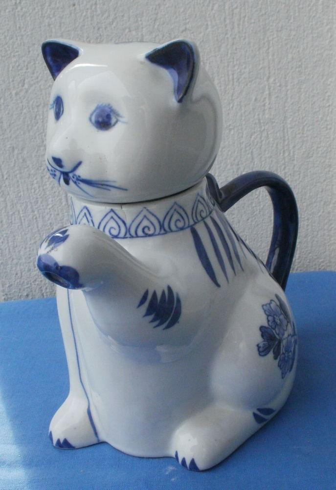 Pichet chat en céramique 18 Montauban (82)