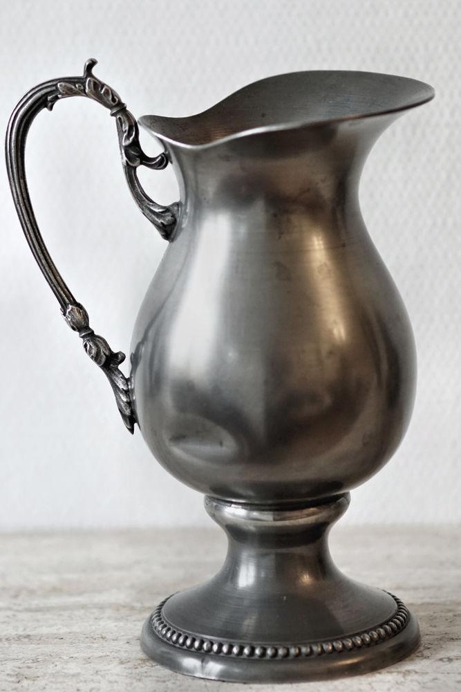 Pichet cruche étain 15 Chaumontel (95)