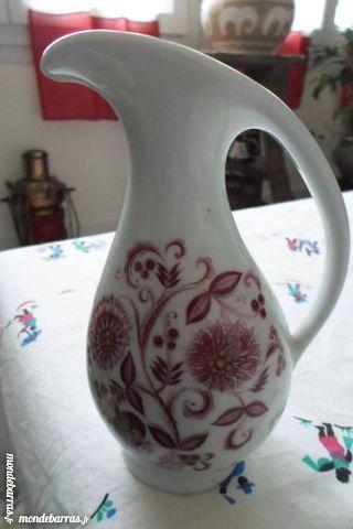 Pichet porcelaine d'art Valette A. Limoges France 6 Lorient (56)
