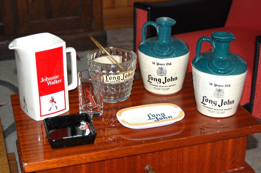 pichet vintage de bar scotch whisky long john jhonnie walker 25 Saint-Jean-d'Angély (17)