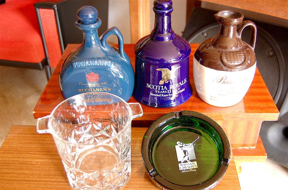 pichets cendrier bac à glace scotch whisky vintage bar 25 Saint-Jean-d'Angély (17)
