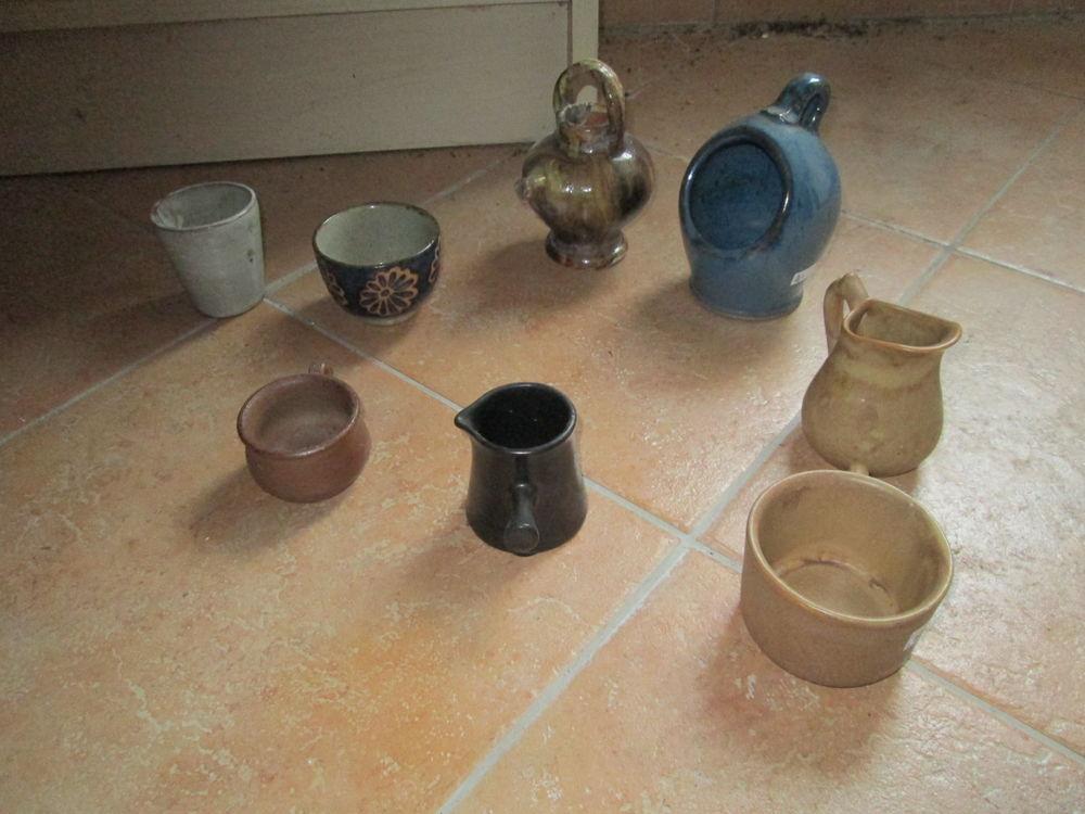 Pichets, moules, pots miniatures en grès et poterie 10 Herblay (95)