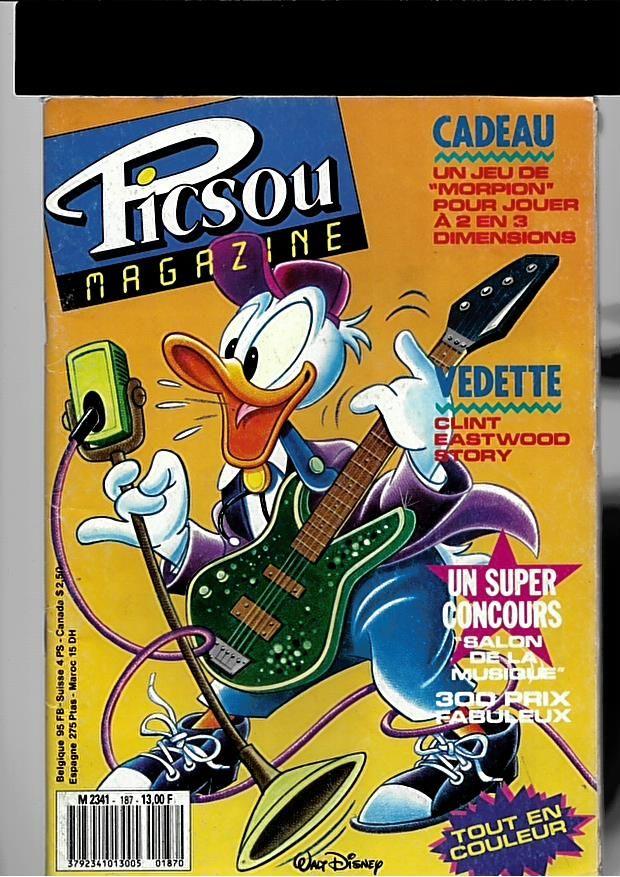 picsou magazine n°187 2 Saint-Jean-d'Angély (17)