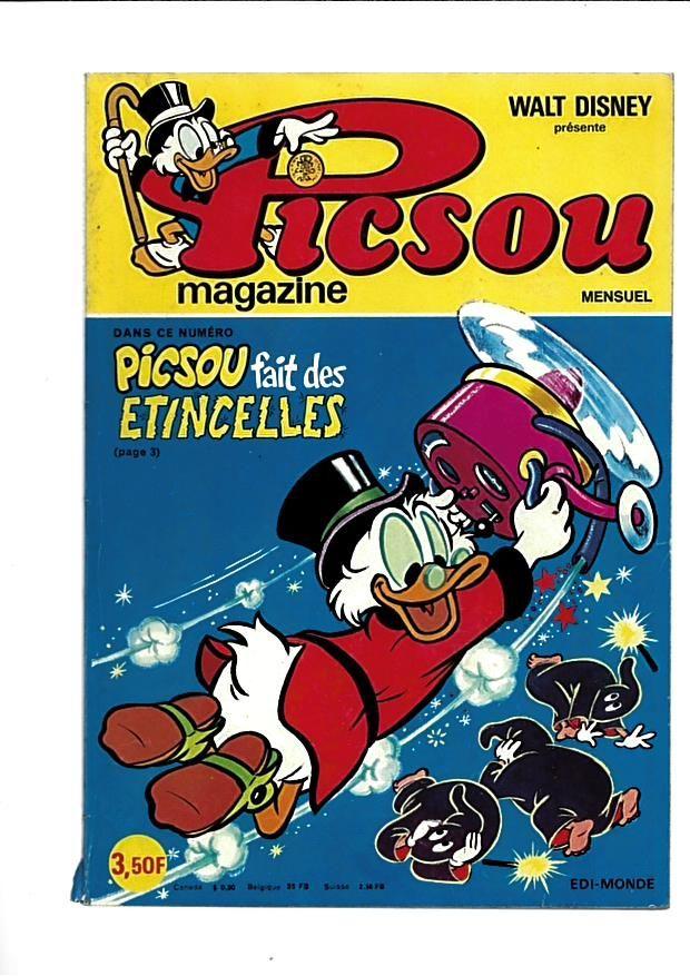 picsou magazine n° 52 3 Saint-Jean-d'Angély (17)