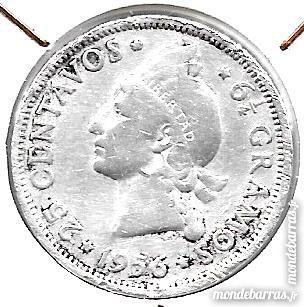 piéce de 25 cts de 1956 république dominicaine 6 Maubeuge (59)