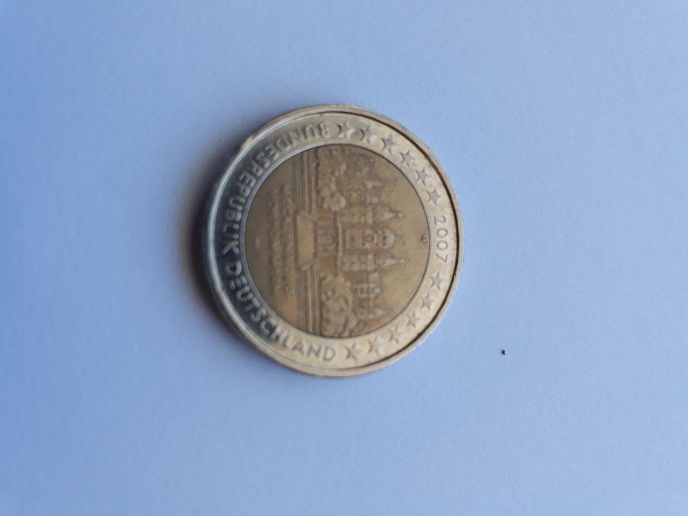 Piece de 2 € allemagne  (ultra rare ) 70000 Saint-Paul (97)