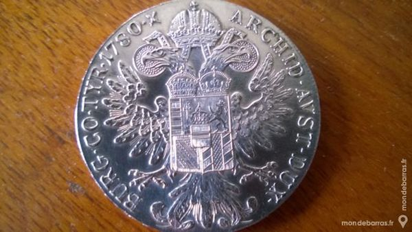 Pièce Autriche en argent 1780 X