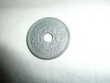 Pièce 20 centimes Zinc Lindauer 1945 C  RARE