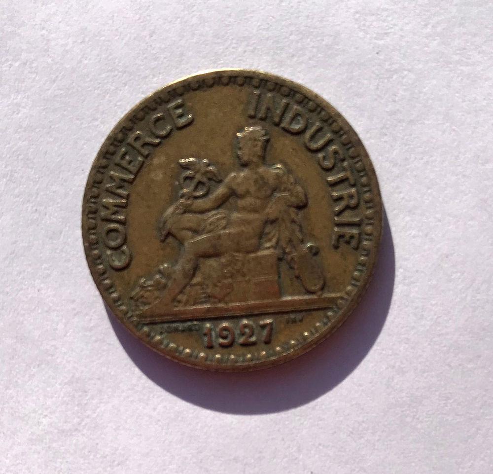 Pièce bon de commerce 2 francs 1927 250 Somain (59)