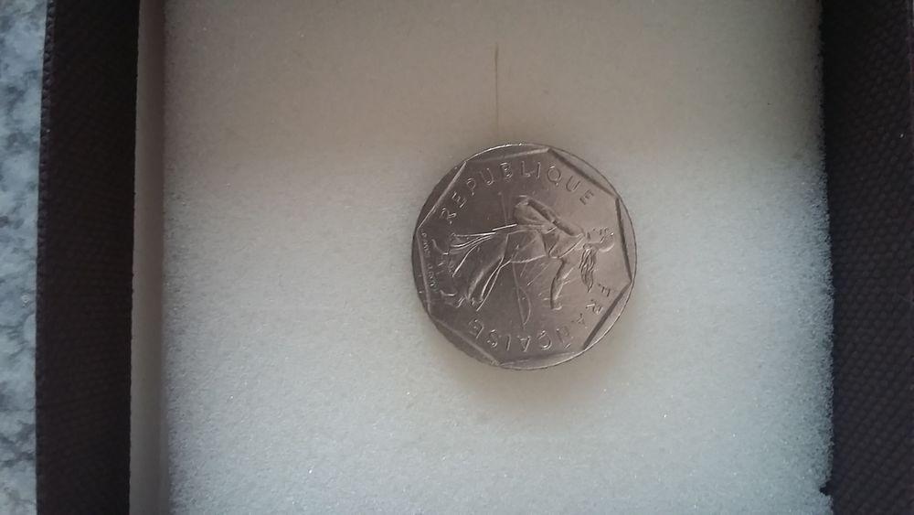 Pièce de deux francs de la république française année 1980 50 Marseille 5 (13)