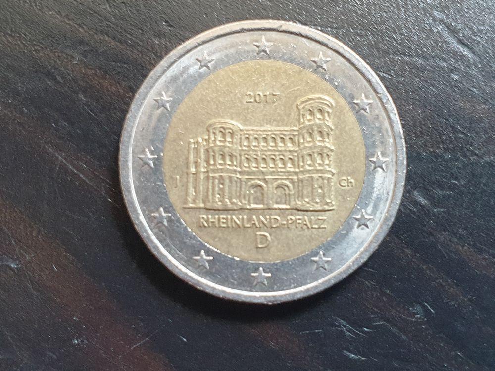 Pièce 2 euros 2017 Allemagne 4 Bordeaux (33)