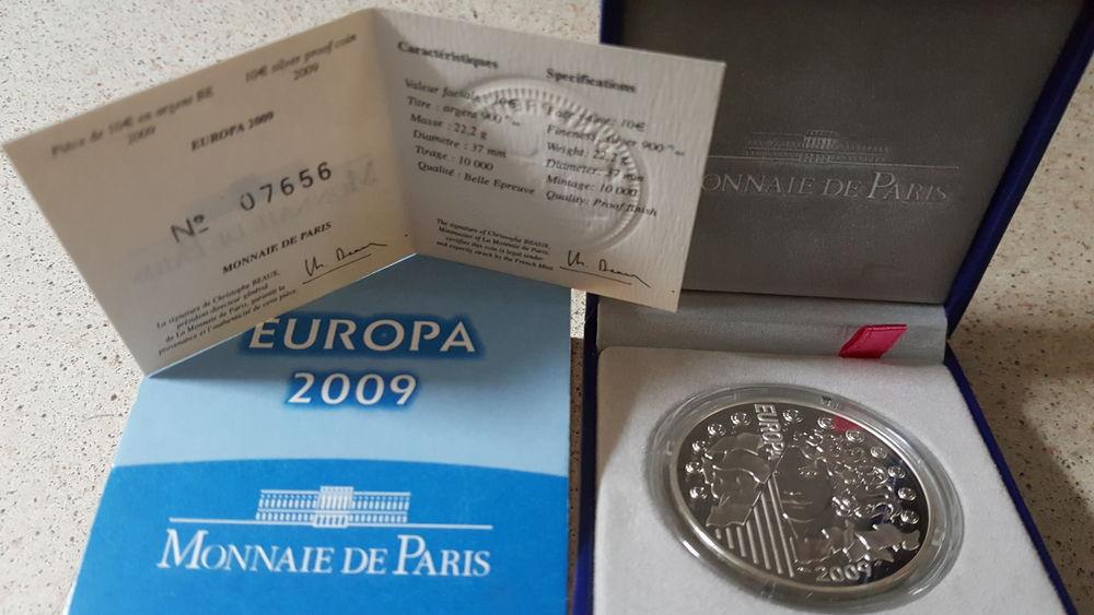 Pièce 10 euros argent BE 2013 France 42 Sansan (32)
