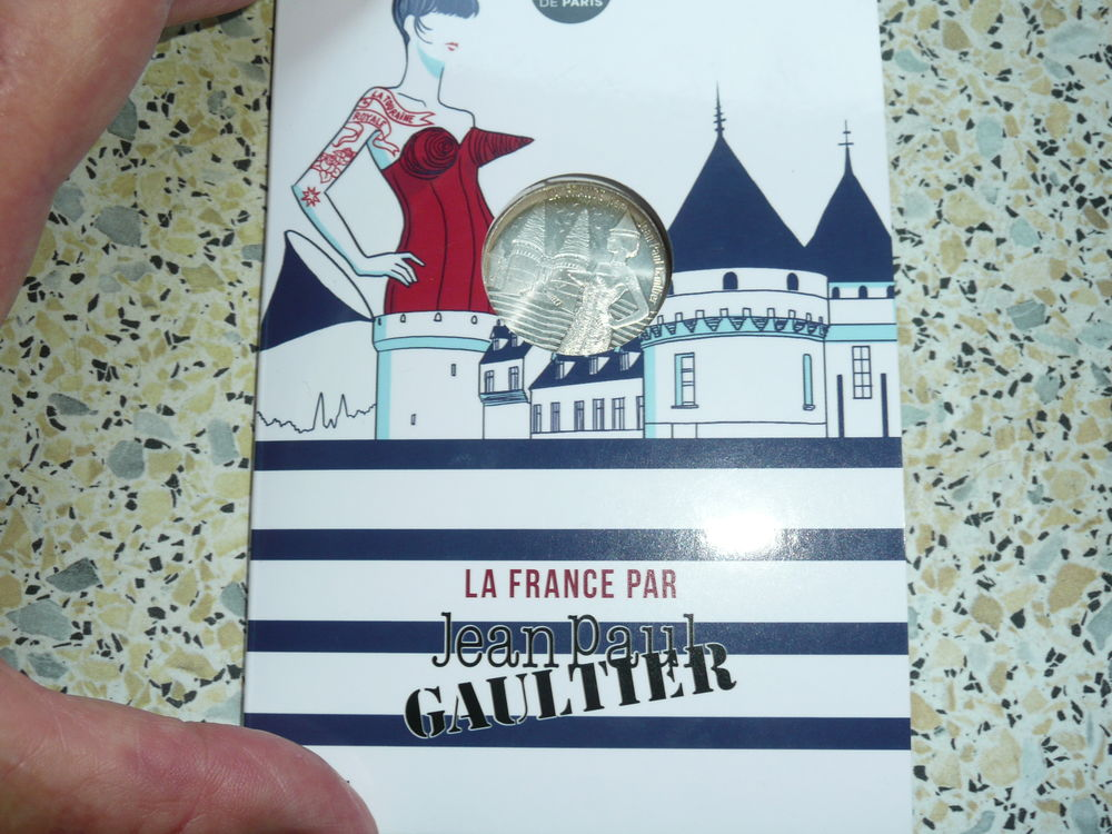 Pièce 10 euros en argent 17 Bordeaux (33)