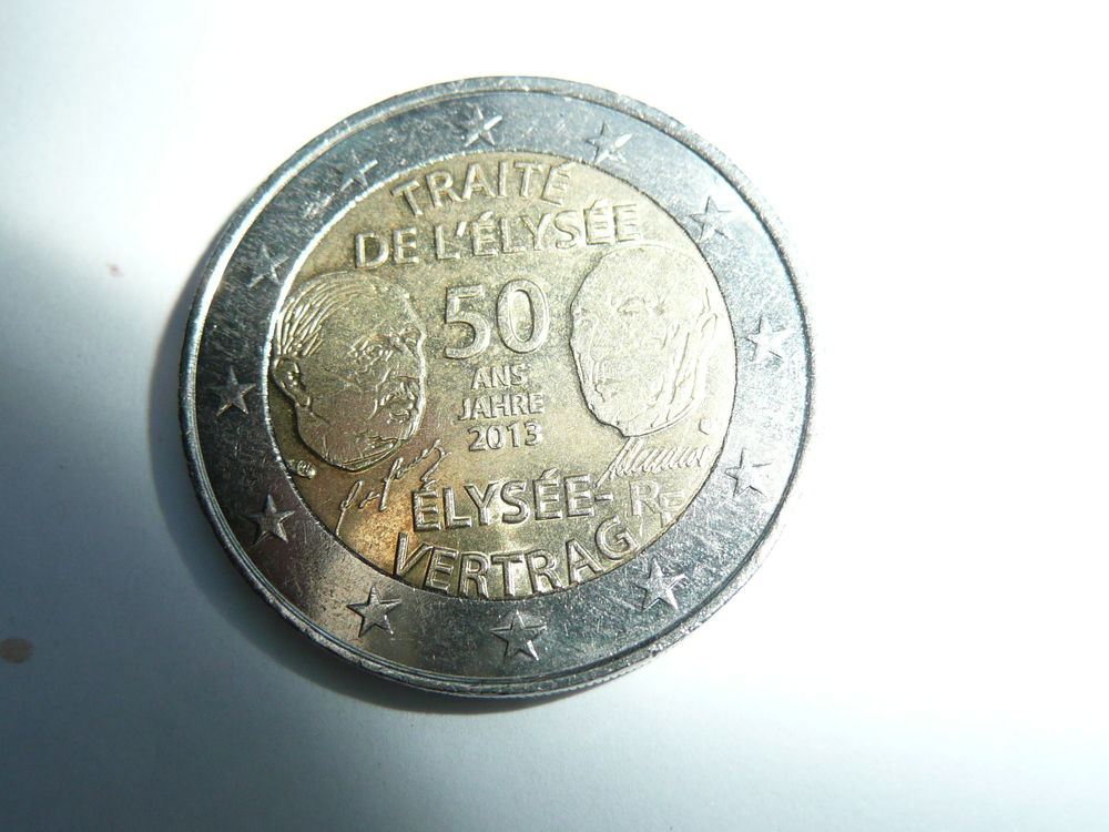 Pièce 2 euros commémorative 2012  3 Bordeaux (33)