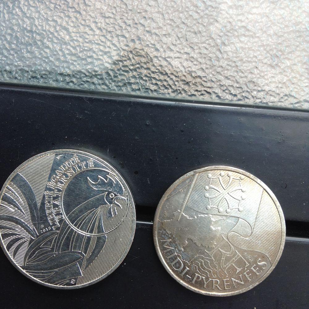 Pièce de dix euros rares  série limitée  50 Montauban (82)