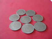 piéce france 1 francs nickel 1975 0 Gennevilliers (92)