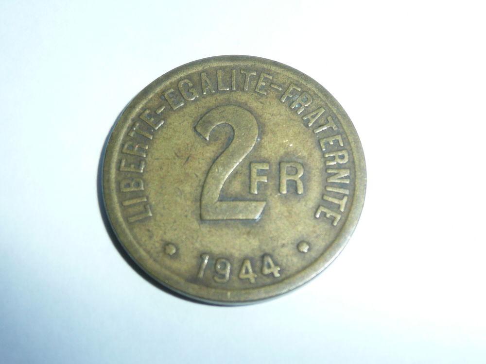 Pièce 2 francs FRANCE 1944 6 Bordeaux (33)