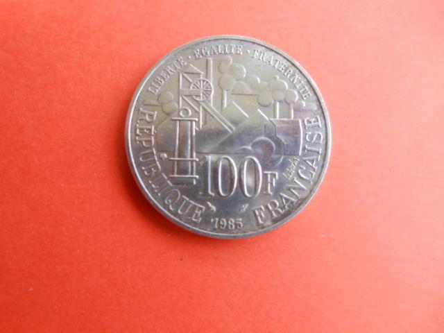piéce 100 francs Zola 1985 14 Grézieu-la-Varenne (69)