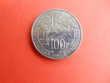 piéce 100 francs Zola 1985