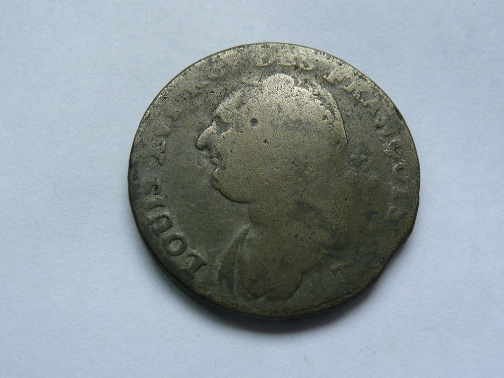 Pièce Louis XVI 1792 12D atelier T