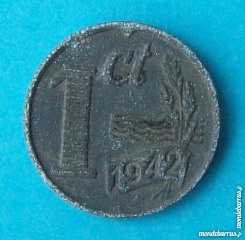 PIÈCE DE MONNAIE 1 CENT 1942 PAYS-BAS  HOLLANDE NE 2 Wattignies (59)