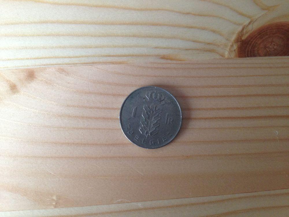 Pièce de Monnaie - 1 Francs 1972 (Belgique) 2 Dijon (21)