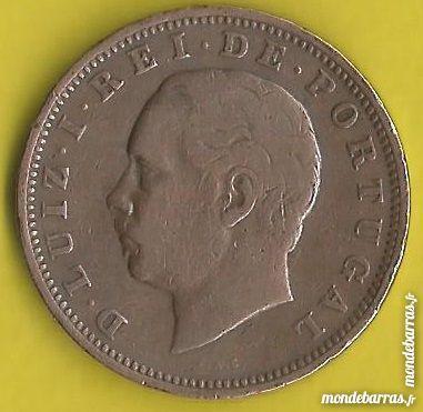 Pièce de monnaie XX Reis 1883   Portugal 4 Isbergues (62)