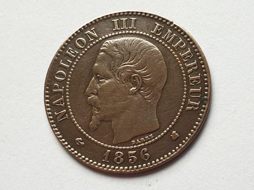 Pièce Napoléon III tête nue 1856 K 12 Bordeaux (33)