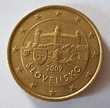 Pièce Slovaquie 2009 50 Centimes d'Euro