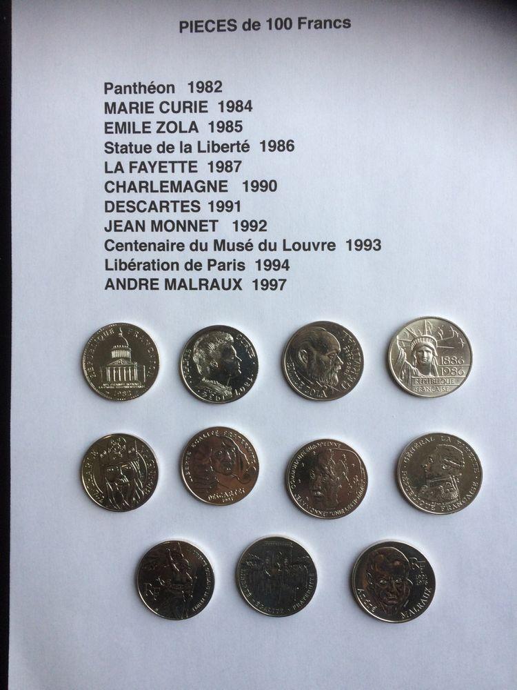 Pièces de 100f 400 Sainte-Eulalie (33)
