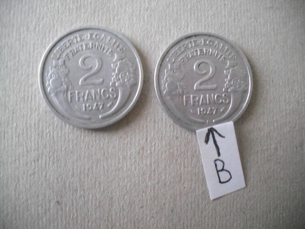 lot de 2 pièces de 2f de 1947 8 Quillan (11)