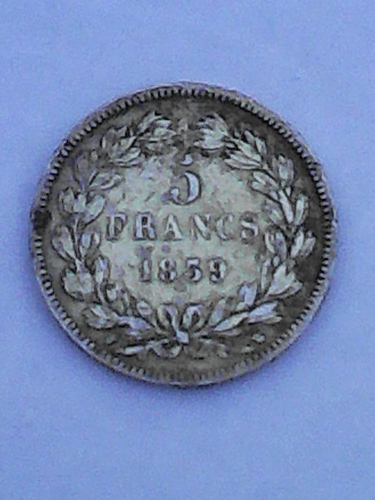 Pièces en argent; LOUIS PHILIPPE 1 ROI DES FRANÇAIS. 380 Dieppe (76)