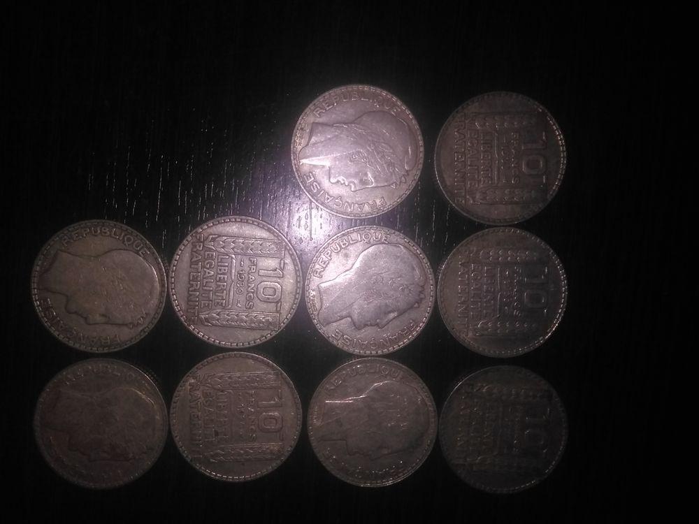 pièces argent Turin de 10F 1929 prix 30€