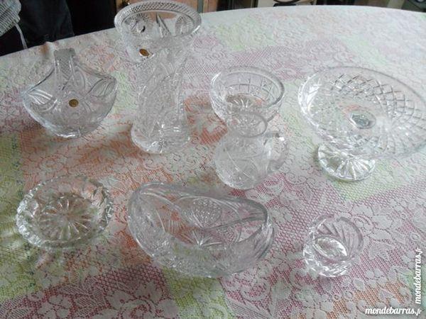 6 pièces en cristal Très bon état 1 Pantin (93)